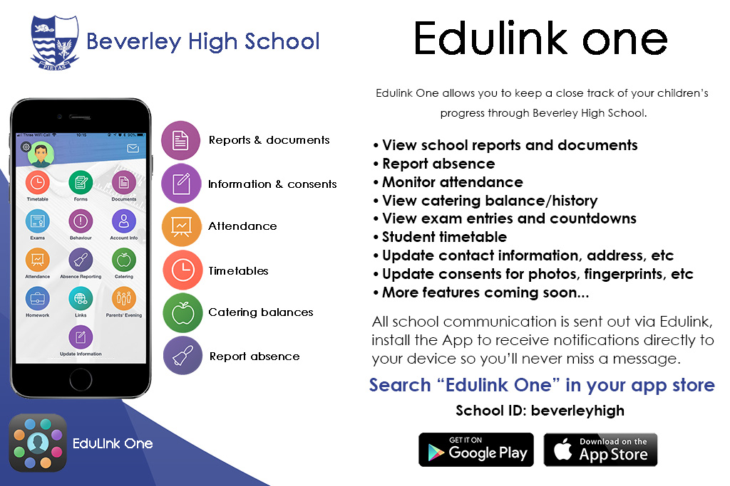 Edulink One Poster